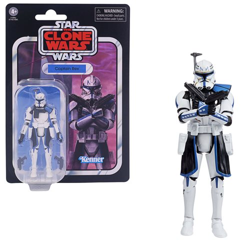 Star Wars The Vintage Collection Captain Rex 3 3/4-Inch Action Figure - JANUARY 2021