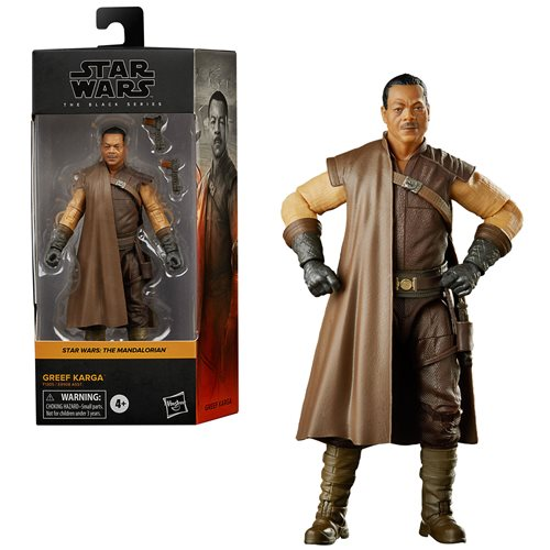 Star Wars The Black Series Greef Karga 6-Inch Action Figure - JANUARY 2021