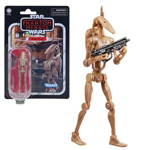 Star Wars The Vintage Collection Battle Droid 3 3/4-Inch Action Figure - MARCH 2021