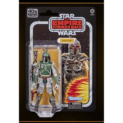 Star Wars The Black Series Empire Strikes Back 40th Anniversary 6 Inch Boba Fett Action Figure Cool Collectibles And Unique Gift Items