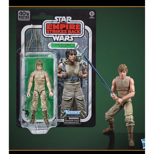 Star Wars The Black Series Empire Strikes Back 40th Anniversary 6-Inch Luke Skywalker Dagobah Action Figure - SEPTEMBER 2020
