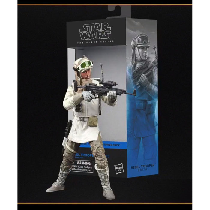 Star Wars The Black Series Rebel Trooper (Hoth) 6-Inch Action Figure - OCTOBER 2020