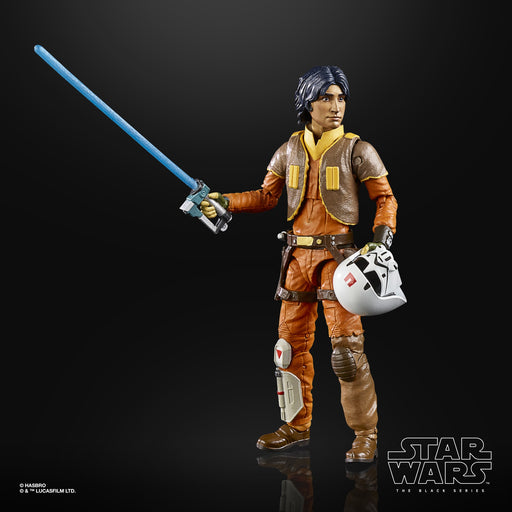 Star Wars The Black Series Rebels Ezra Bridger 6-Inch Action Figure