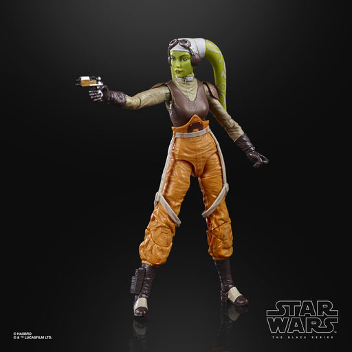 Star Wars The Black Series Rebels Hera Syndulla 6-Inch Action Figure