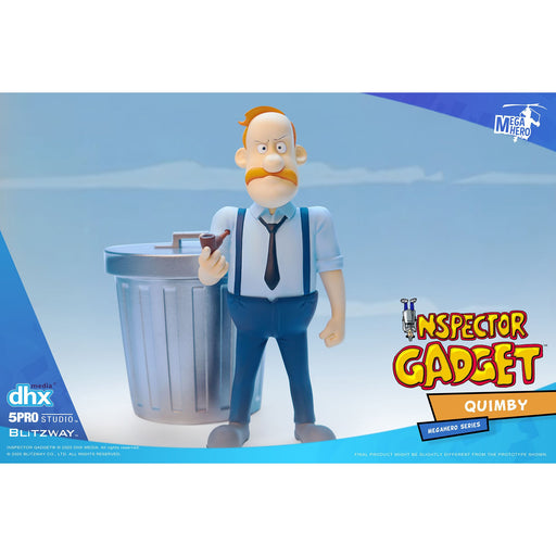 Inspector Gadget MEGAHERO Series - Quimby 1:12 Scale Action Figure - Q4 2020