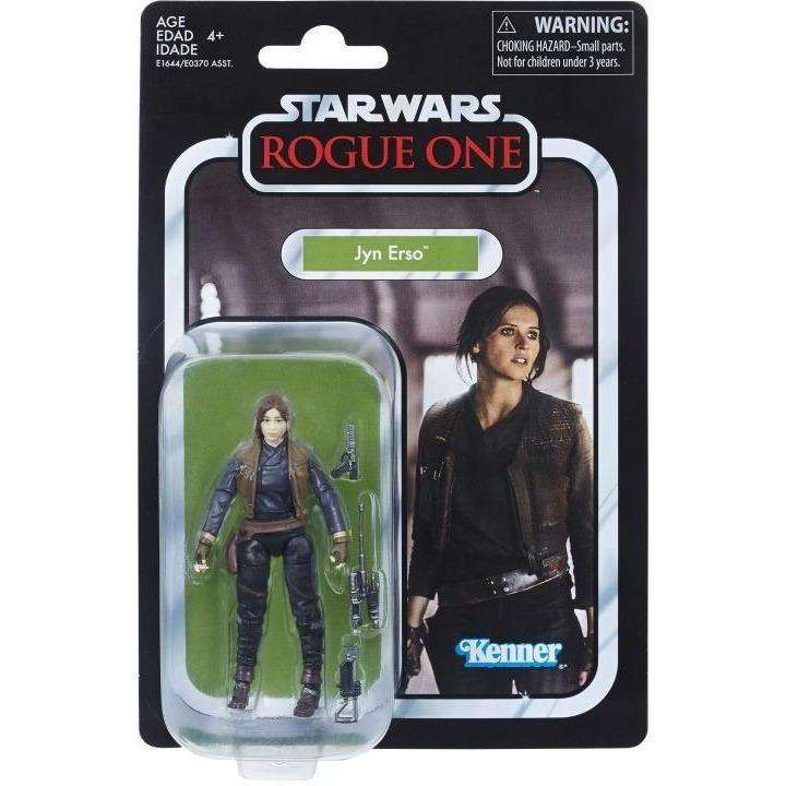 "Star Wars: The Vintage Collection 3.75"" Wave 1 - Jyn Erso Action Figure"