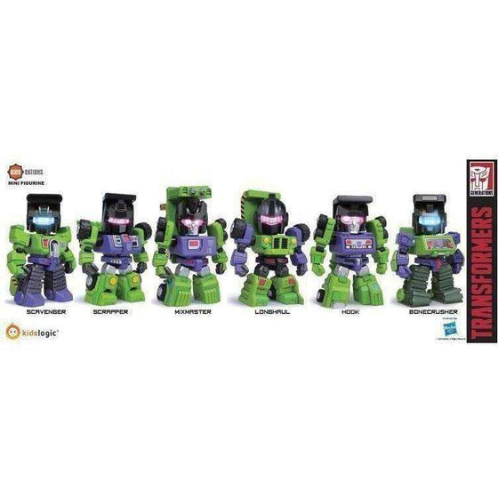 Transformers Kids Nations Series TF-04 Devastator Six Pack - AUGUST 2018