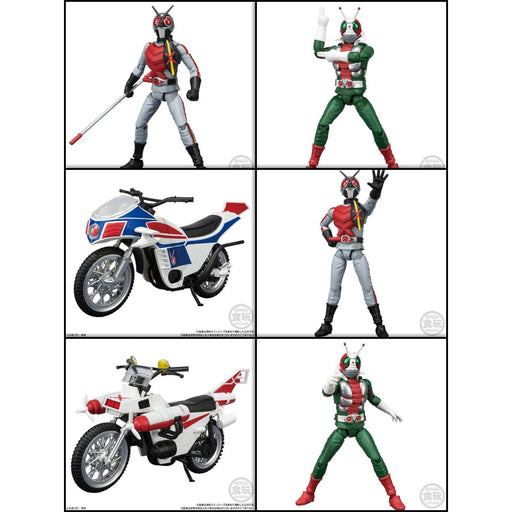 Shodo-X Kamen Rider Vol.7 - Box of 10 - JANUARY 2020