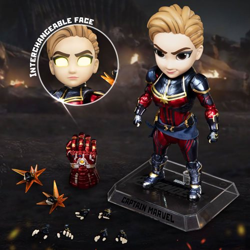 Avengers: Endgame Captain Marvel EAA-108 Egg Attack Action Figure - APRIL 2020