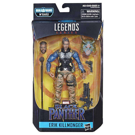 Black Panther Marvel Legends Wave 2 (M'Baku BAF) - Erik Killmonger