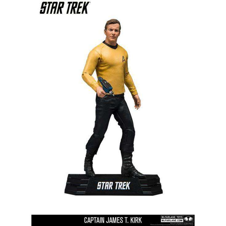 "Star Trek - Captain James T. Kirk (William Shatner) 7"" Action Figure - OCTOBER 2018"