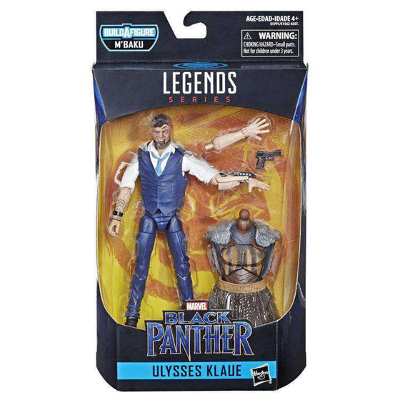 Black Panther Marvel Legends Wave 2 (M'Baku BAF) - Ulysses Klaue
