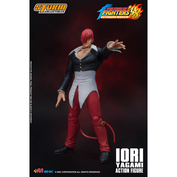 King of Fighters 98 Iori Yagami Figure - Q1 2020