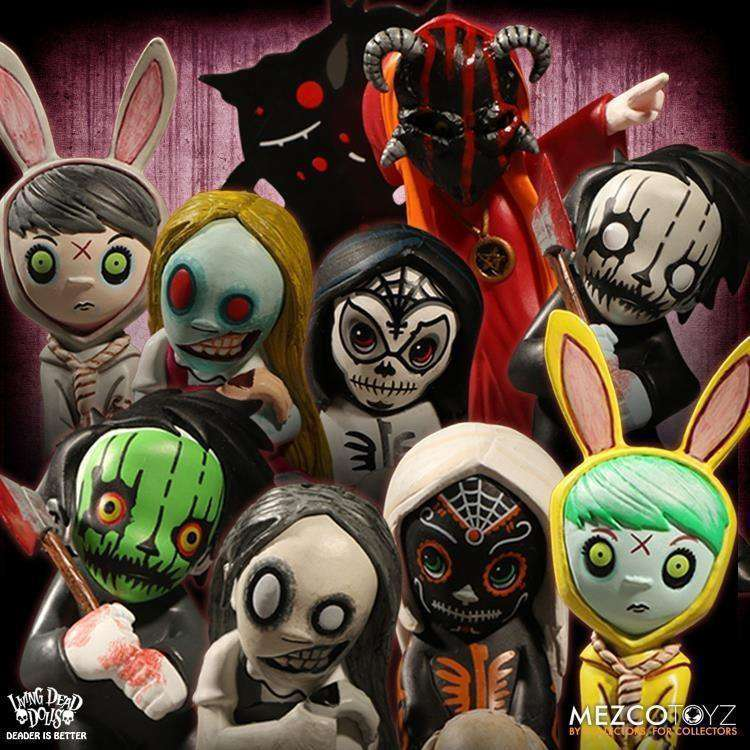 Living Dead Dolls Blind Box Figures: Resurrection Series 1 - Complete Box of 12 - AUGUST 2018
