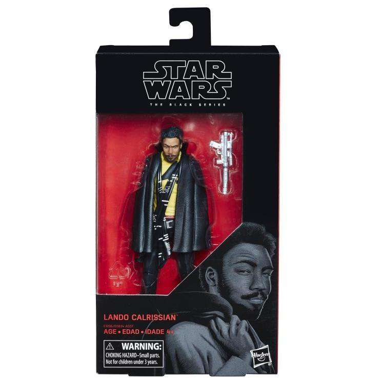 "Star Wars Empire Strikes Back Black Series - Lando Calrissian 6"" Action Figure by Hasbro"