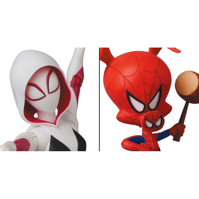 Spider-Man: Into The Spider-Verse MAFEX No.134 Spider-Gwen & Spider-Ham - APRIL 2021