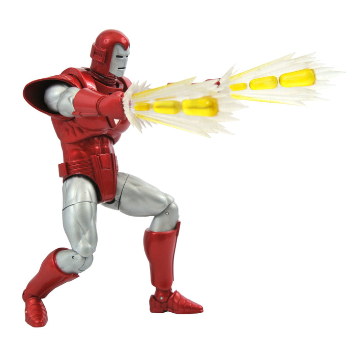 MARVEL SELECT MARVEL NOW SILVER CENTURION IRON MAN ACTION FIGURE - FEBRUARY 2021