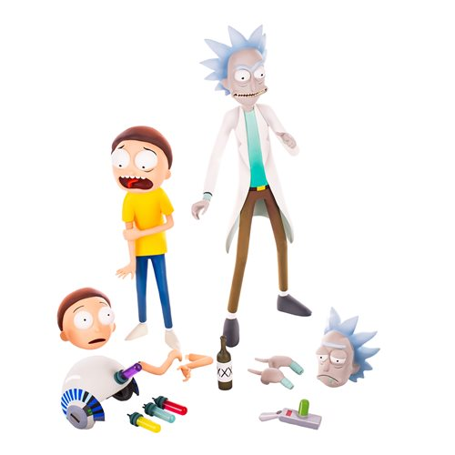 Rick and Morty Rick and Morty 1/6 Scale Action Figure Set - APRIL 2020