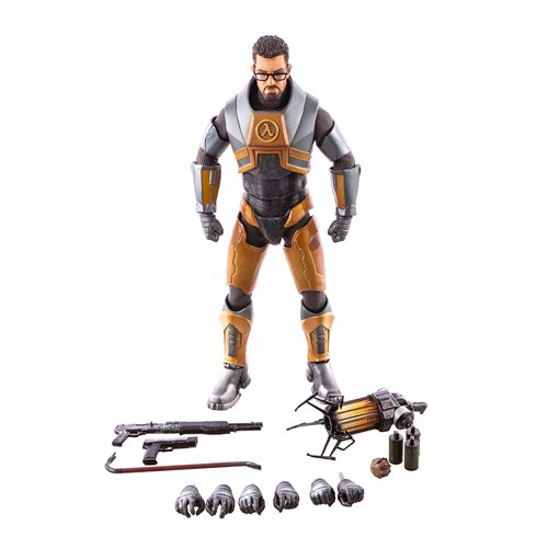Half Life 2 Gordon Freeman 1 6 Scale Action Figure May 2020
