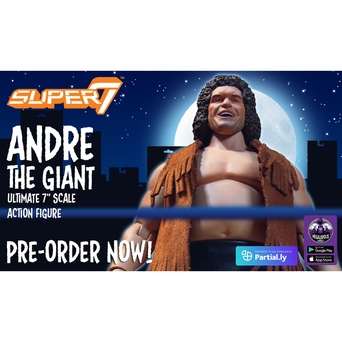 Andre the Giant Ultimates 8-Inch Action Figure - NOVEMBER 2020