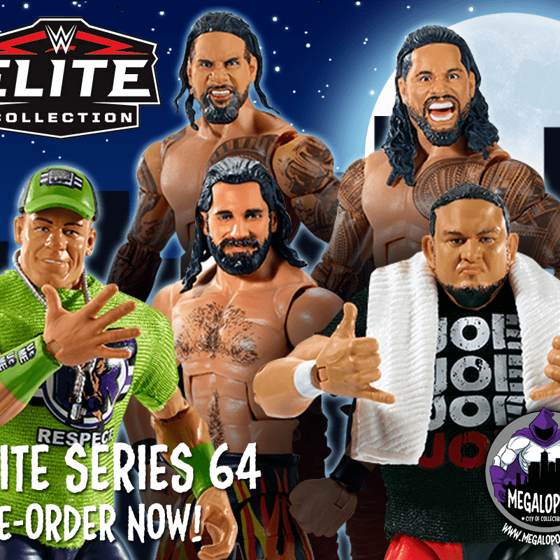 WWE Wrestling Elite Series 64 - Set of 6 Action Figures - MARCH 2019