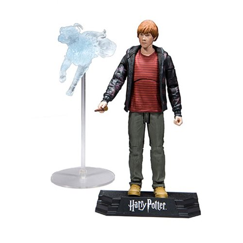 "Harry Potter 7"" Action Figure Series 1 (Deathly Hallows) - Ron Weasley"