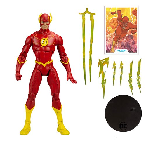 DC Multiverse Wave 3 Modern Comic Flash 7-Inch Action Figure - NOVEMBER 2020