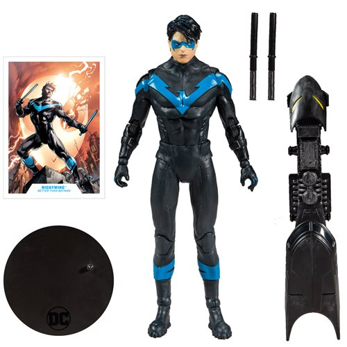 "DC Collector Wave 1 - Nightwing (Better than Batman)  7"" Action Figure - JANUARY 2020"