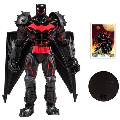 "DC Armored 7"" Action Figure Wave 1 - Hellbat Suit Batman"