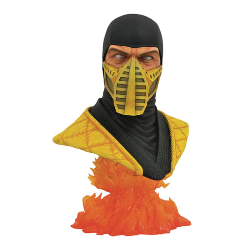 Mortal Kombat 11 Legends in 3D - Scorpion 1/2 Scale Bust - JULY 2020