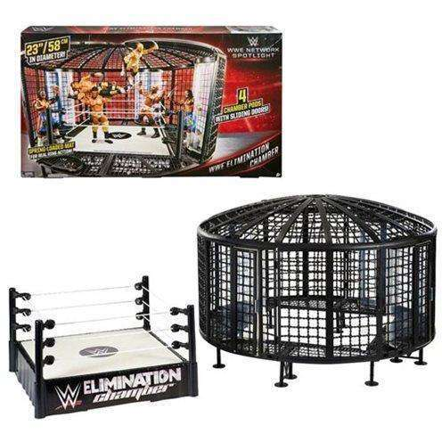 WWE Elimination Chamber Playset - Toys R Us Exclusive - AUGUST 2018