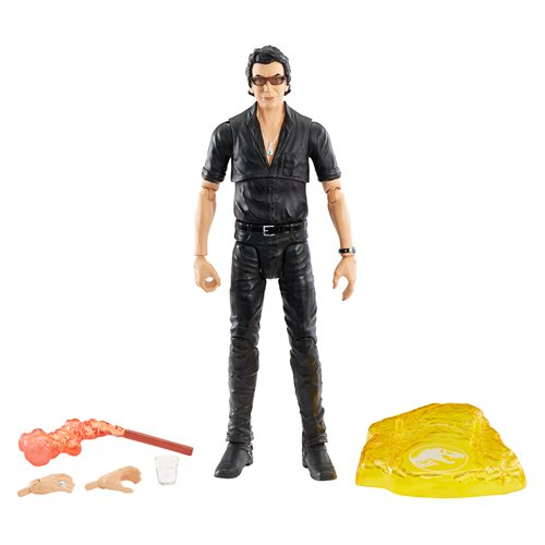 Jurassic World Dr. Ian Malcolm Amber Collection Action Figure (DAMAGED BOX)