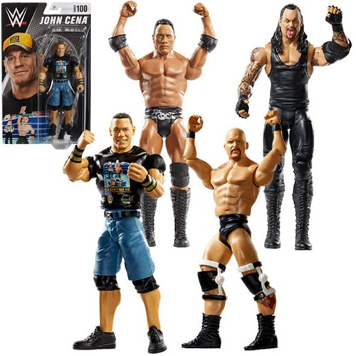 WWE Basic Series 100 - Set of 5 (Card Not Mint)