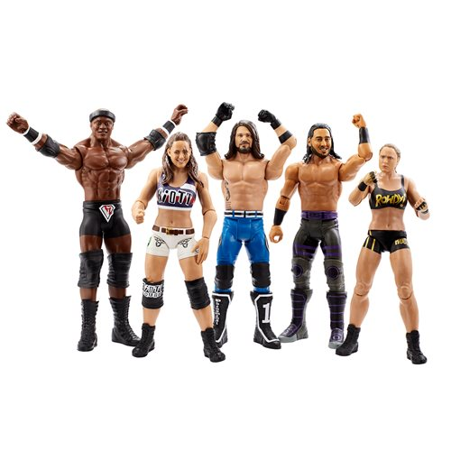 WWE Basic Series 101 - Complete Set of 5