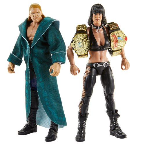 WWE Triple H and Chyna Elite Collection 2-Pack - AUGUST 2020
