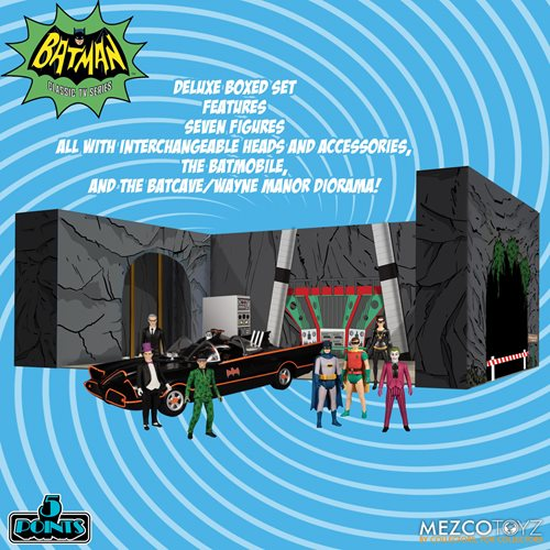 Batman (1966) 5 Points Deluxe Boxed Set - FEBRUARY 2021