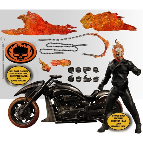 Ghost Rider and Hell Cycle One:12 Collective Action Figure Set - JUNE 2021