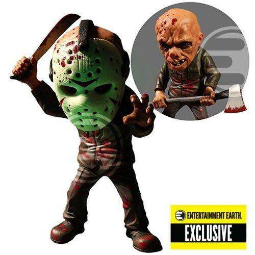 Friday the 13th Bloody Jason Voorhees Glow-in-the-Dark Mask Stylized Action Figure - Entertainment Earth Exclusive - OCTOBER 2018