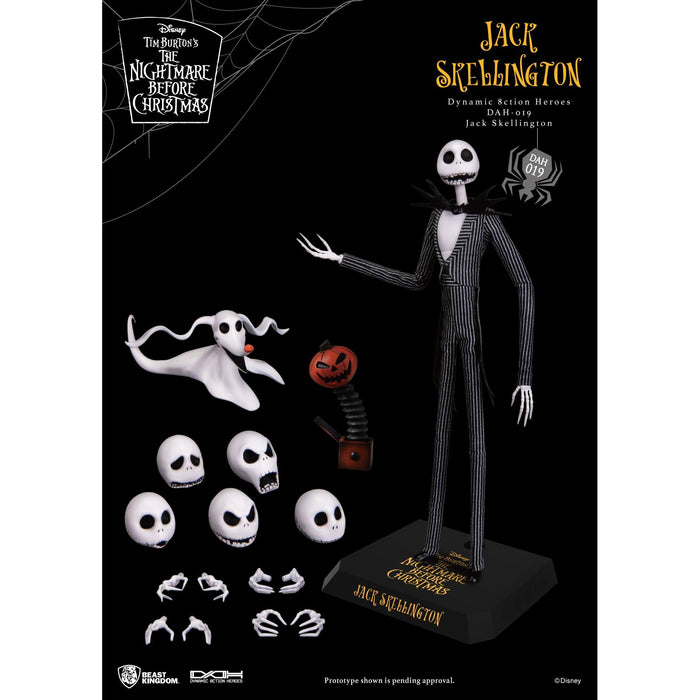 The Nightmare Before Christmas – Jack Skellington Dynamic 8ction Heroes (DAH) Figure - SEPTEMBER 2020