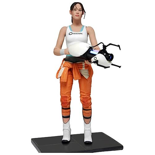Portal Chell 7-Inch Action Figure - MAY 2020