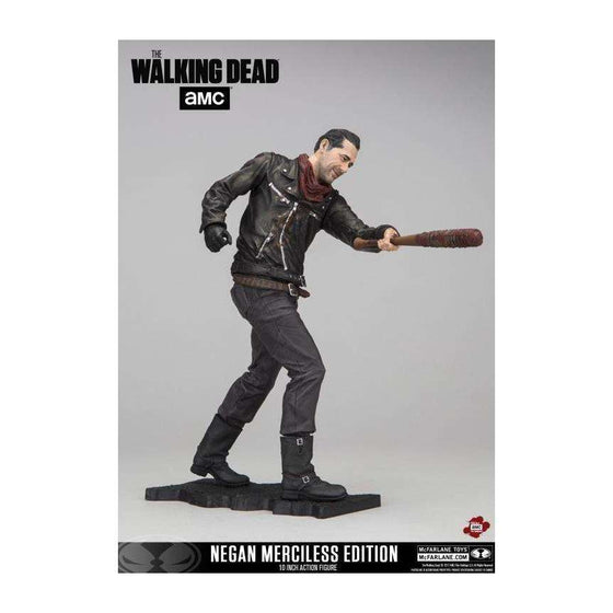"The Walking Dead - Negan 10"" Action Figure (Merciless Edition)"
