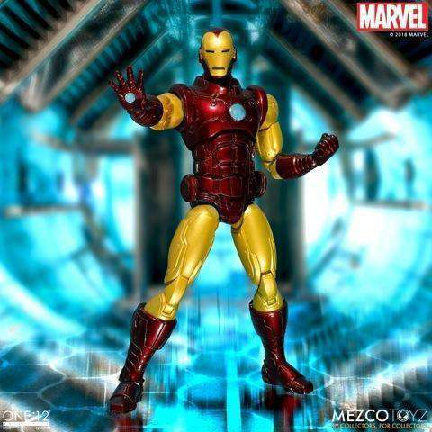One:12 Collective Marvel - Iron Man - AUGUST 2018