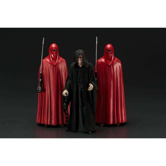 ArtFX+ Star Wars: Return of the Jedi - Emperor Palpatine w/ Royal Guards Statue 3-Pack - AUGUST 2018