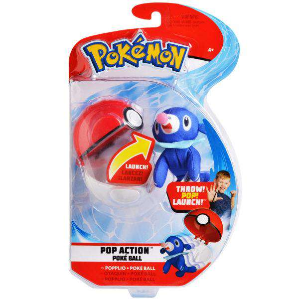 Pokémon Pop Action Poké Ball - Popplio