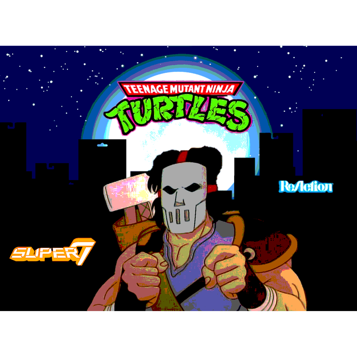 "TMNT Reaction 3.75"" Figures - Casey Jones - AUGUST 2020"
