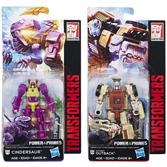 Transformers Power of the Primes Legends Wave 3 - Set of 2
