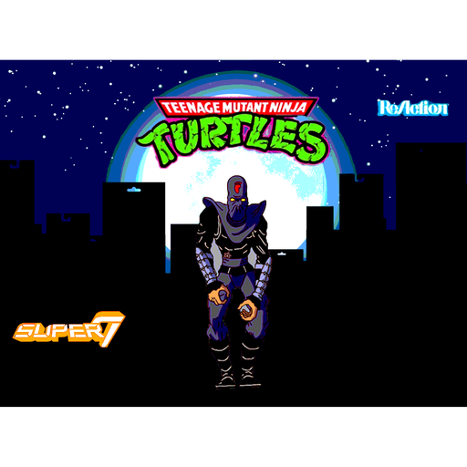 "TMNT Reaction 3.75"" Figures - Damaged Foot Soldier - AUGUST 2020"