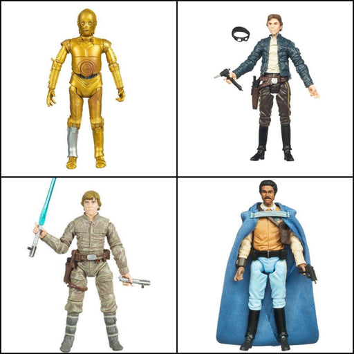 "Star Wars The Vintage Collection Wave 4 (ROS) - Set of 4 3.75"" Figures"