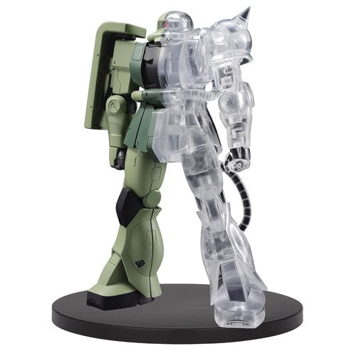 Mobile Suit Gundam Internal Structure MS-06F Zaku II Half Clear Statue - OCTOBER 2020