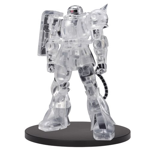 Mobile Suit Gundam Internal Structure MS-06F Zaku II Clear Statue - OCTOBER 2020